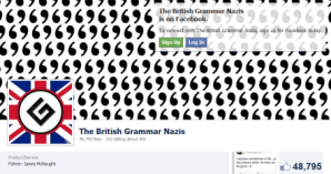 British grammar nazis header